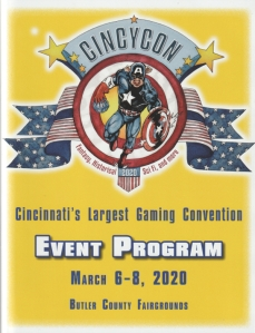 CincyCon 2020 Guidebook Cover