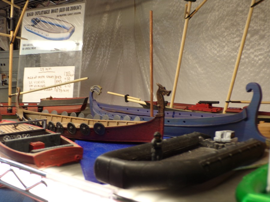 Sea Dog Studios Miniature Viking Longships