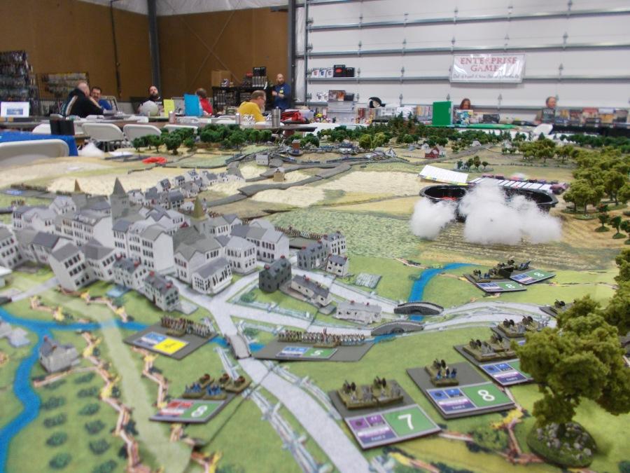 Battle of Gettyburg recreated