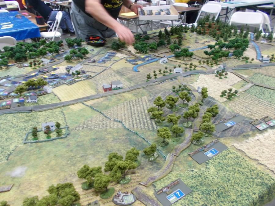 Battle of Gettysburg recreation 3