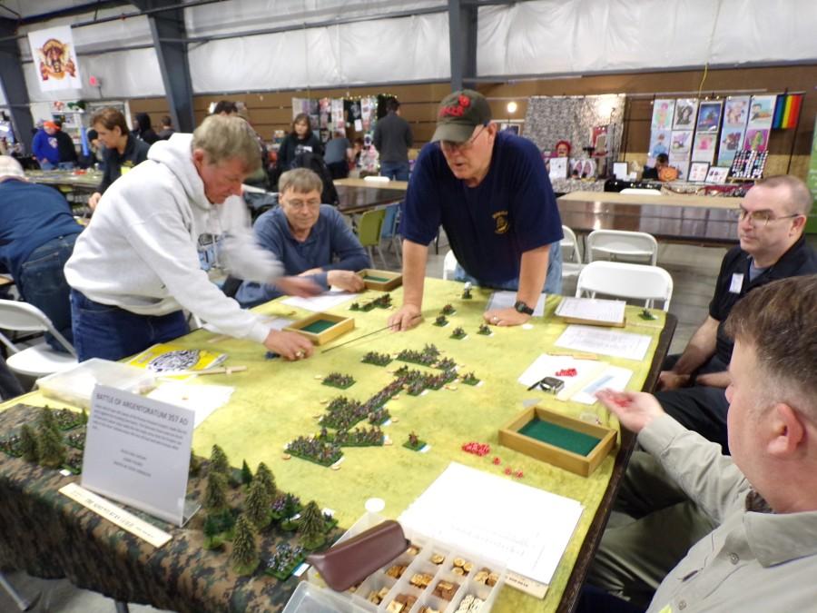HMGS Midwest battle for Argentoaratum 357 AD