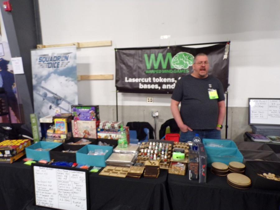Warped Mind Games Booth